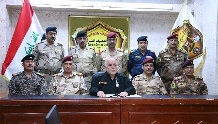 イラク首相、IS拠点奪還を宣言
