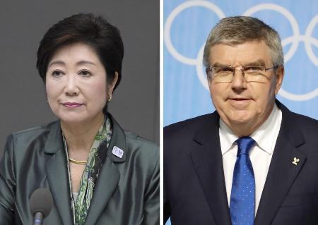 IOC会長らと18日に会談