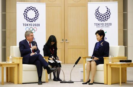 IOC会長、作業部会の設置提案