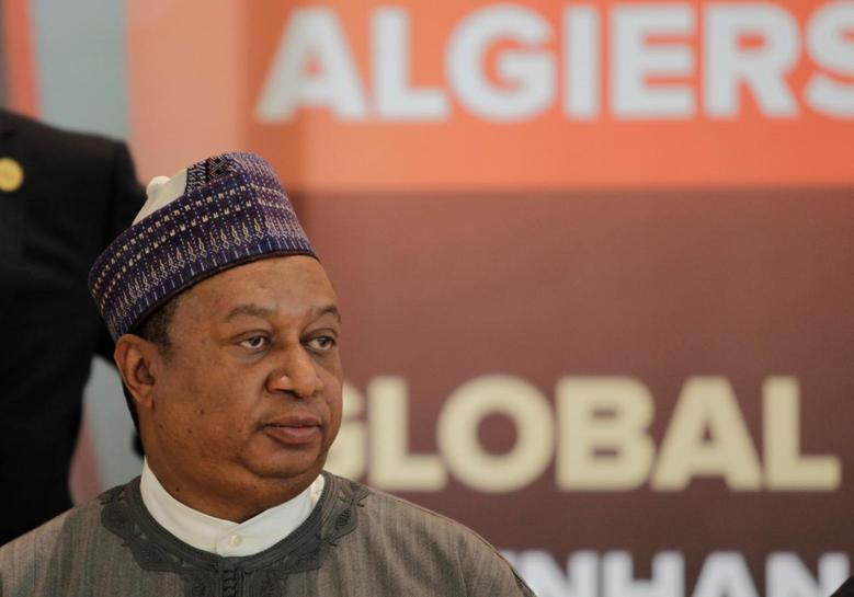 Mohammed Sanusi Barkindo, Secretary General of Opec attends the 15th International Energy Forum Ministerial (IEF15) in Algiers, Algeria  September  27, 2016. REUTERS/Ramzi Boudina