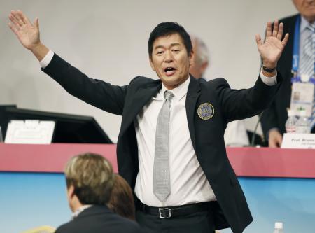 国際体操連盟に渡辺新会長