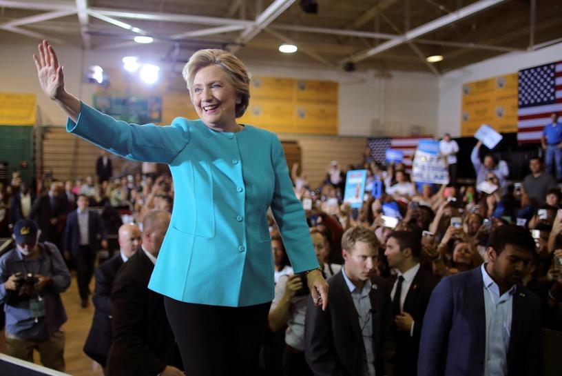 Clinton will hold election night rally in New York City: campaign