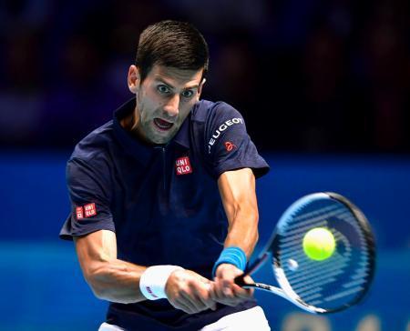 テニス、ジョコ4強進出一番乗り