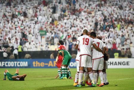 サッカー、UAEがイラクに快勝