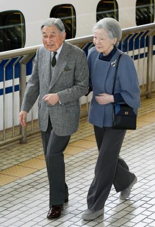 両陛下が私的旅行で長野、愛知へ