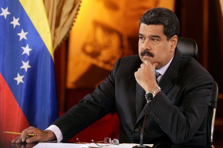 Venezuela's President Nicolas Maduro  in Caracas, Venezuela November 4, 2016. REUTERS/Marco Bello