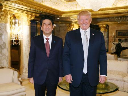 首相、早期再会談で日米同盟強化