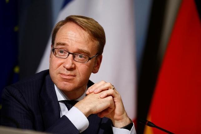 11月18日、ドイツ連銀のワイトマン総裁(写真)は、非伝統的措置は、一時的に講じる場合でも十分な注意を払い活用すべきだ、との考えを示した。ベルリンで9月撮影(2016年 ロイター/Axel Schmidt)