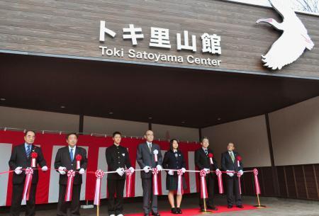 トキの公開施設、石川にオープン