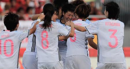 サッカー、日本はB組1位で8強