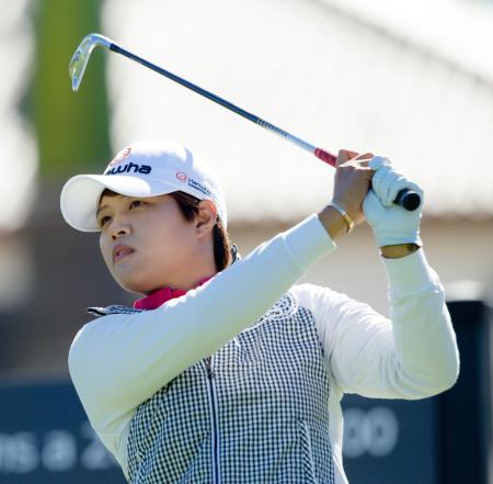 米女子ゴルフ、野村は13位
