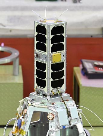 電柱大の世界最小ロケット宇宙へ