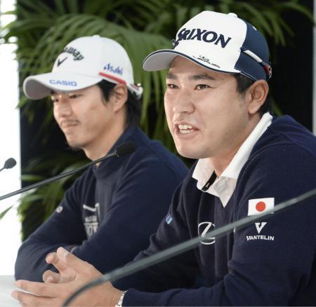 松山英樹、石川遼が団体戦へ意欲