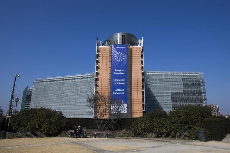 图为欧盟执委会总部。REUTERS/Yves Herman