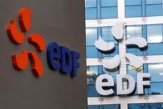 EDF a confirmé vendredi que plusieurs sites du groupe avaient été perquisitionnés dans le cadre d'une enquête préliminaire de l'Autorité de la concurrence sur des pratiques présumées d'abus de position dominante dans le secteur de la fourniture d'énergie et des services énergétiques en France. /Photo prise le 24 novembre 2016/REUTERS/Yves Herman