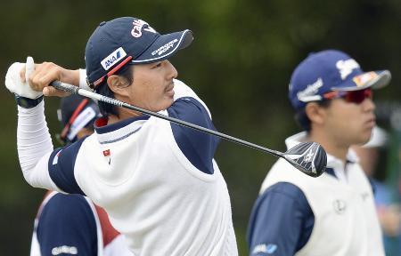 松山英樹、石川遼は首位と7打差