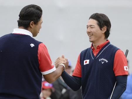 ゴルフW杯、松山・石川組は6位