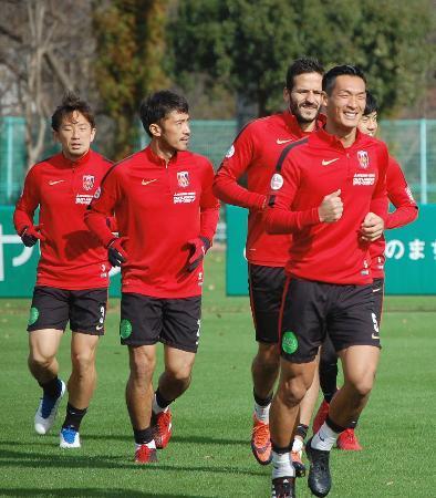 J1決勝、浦和と鹿島が最終調整