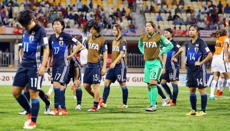 サッカー、日本は初の決勝ならず