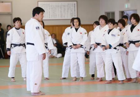 柔道GS東京に向け女子が練習