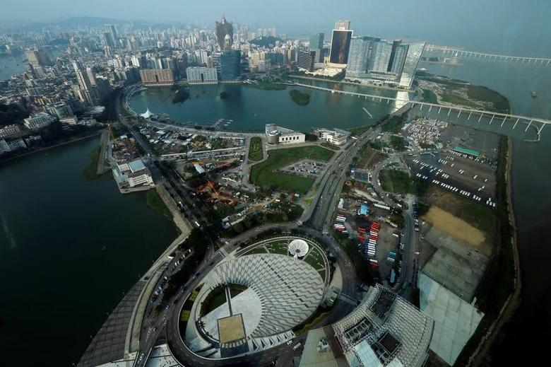 A general view of the Macau peninsula, China, October 8, 2015.    REUTERS/Bobby Yip/File Photo
