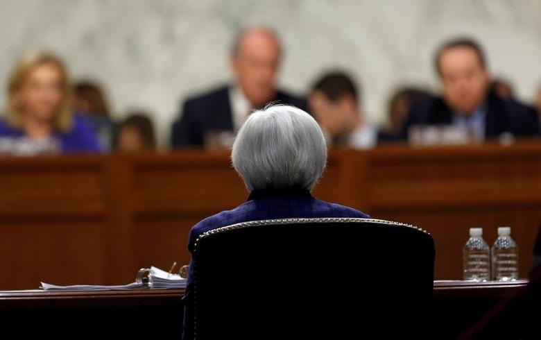 U.S. Federal Reserve Board chair Janet Yellen testifies before a Congressional Joint Economic hearing on Capitol Hill in Washington, DC, U.S. November 17, 2016. REUTERS/Gary Cameron