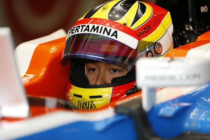 Britain Formula One - F1 - British Grand Prix 2016 - Silverstone, England - 9/7/16Rio Haryanto of Manor during practiceReuters / Andrew Boyers