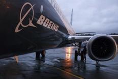 La compagnie aérienne IranAir a annoncé dimanche l'achat de 80 avions commerciaux Boeing - cinquante 737 et trente 777. L'accord représente un investissement de 16,6 milliards de dollars. /Photo d'archives/REUTERS/Matt Mills McKnight