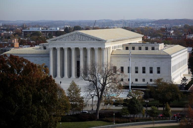 A general view of the U.S. Supreme Court building in Washington, U.S., November 15, 2016. REUTERS/Carlos Barria