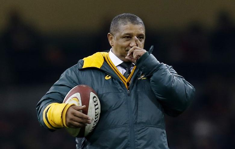 Rugby Union Britain - Wales v South Africa - Principality Stadium, Cardiff, Wales - 26/11/16 South Africa Head Coach Allister Coetzee before the match  Action Images via Reuters / Paul Childs Livepic EDITORIAL USE ONLY. - RTSTFTP