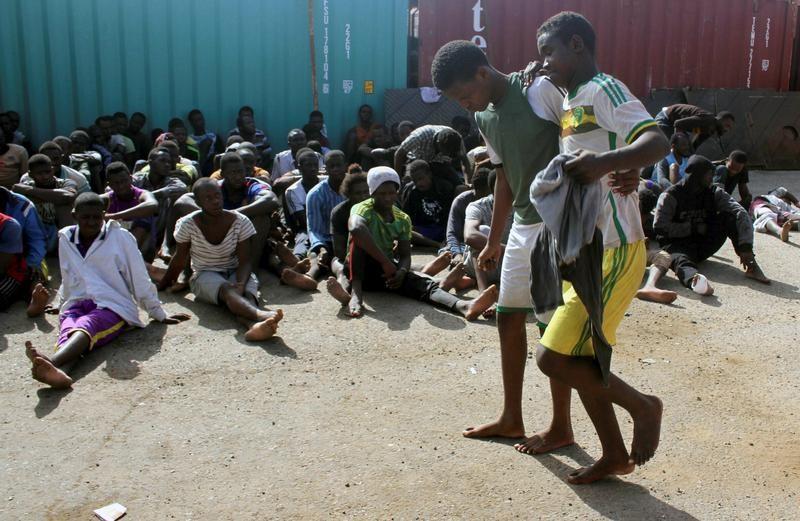 """تقرير للأمم المتحدة: المهاجرون في ليبيا يواجهون """"أزمة حقوق إنسان"""""""
