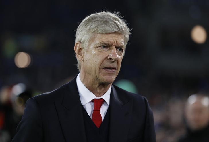 Britain Football Soccer - Everton v Arsenal - Premier League - Goodison Park - 13/12/16 Arsenal manager Arsene Wenger before the match  Reuters / Phil Noble Livepic