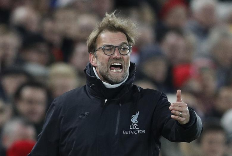 Liverpool manager Juergen Klopp  Reuters / Darren Staples