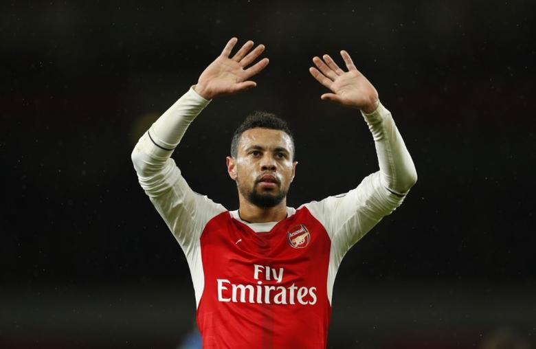 Britain Football Soccer - Arsenal v Crystal Palace - Premier League - Emirates Stadium - 1/1/17 Arsenal's Francis Coquelin after the match  Action Images via Reuters / John Sibley Livepic