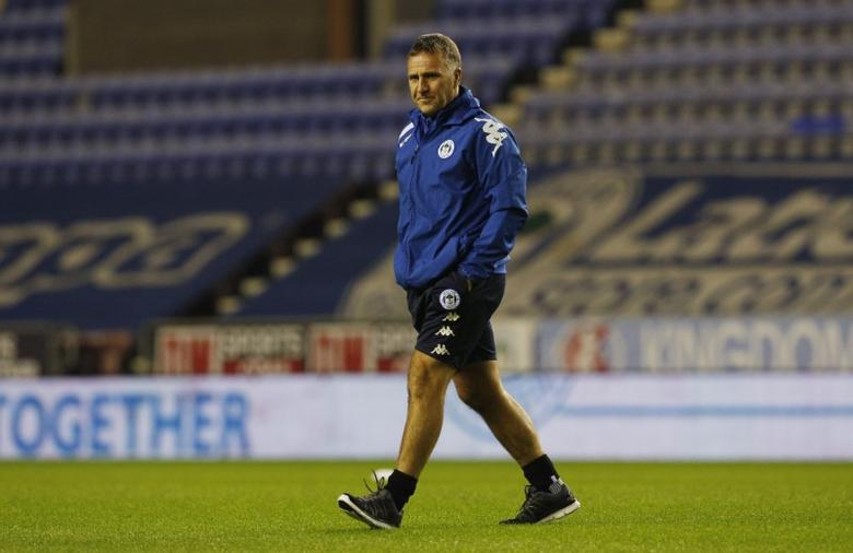 Britain Football Soccer - Wigan Athletic v Newcastle United - Sky Bet Championship - DW Stadium - 14/12/16 Wigan Athletic manager Warren Joyce before the match Mandatory Credit: Action Images / Craig Brough Livepic