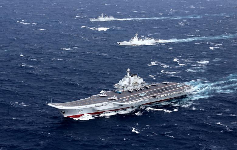 reuters.com - Taiwan scrambles jets, navy as China aircraft carrier enters Taiwan Strait