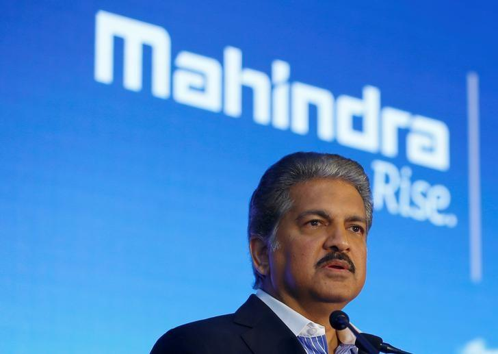 Anand Mahindra, chairman and managing director of Mahindra Group, attends a news conference in Mumbai, India, September 8, 2016. REUTERS/Danish Siddiqui/Files