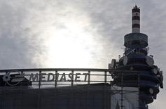 La holding Fininvest, actionnaire de Mediaset, a fait savoir mercredi qu'elle n'avait reçu aucune proposition de Vivendi et qu'il n'y avait aucune négociation en cours avec le groupe de médias français. /Photo d'archives/REUTERS/Stefano Rellandini