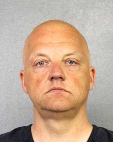 Volkswagen executive Oliver Schmidt, charged with conspiracy to defraud the United States over the company's diesel emissions scandal is shown in this booking photo in Fort Lauderdale, Florida, U.S., provided January 9, 2017.  Courtesy of Broward County Sheriff's Office/Handout via REUTERS