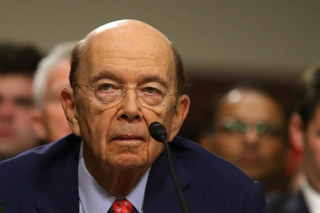 Wilbur Ross testifies before a Senate Commerce, Science and Transportation Committee confirmation hearing on his nomination to be commerce secretary at Capitol Hill in Washington, U.S., January 18, 2017. REUTERS/Carlos Barria