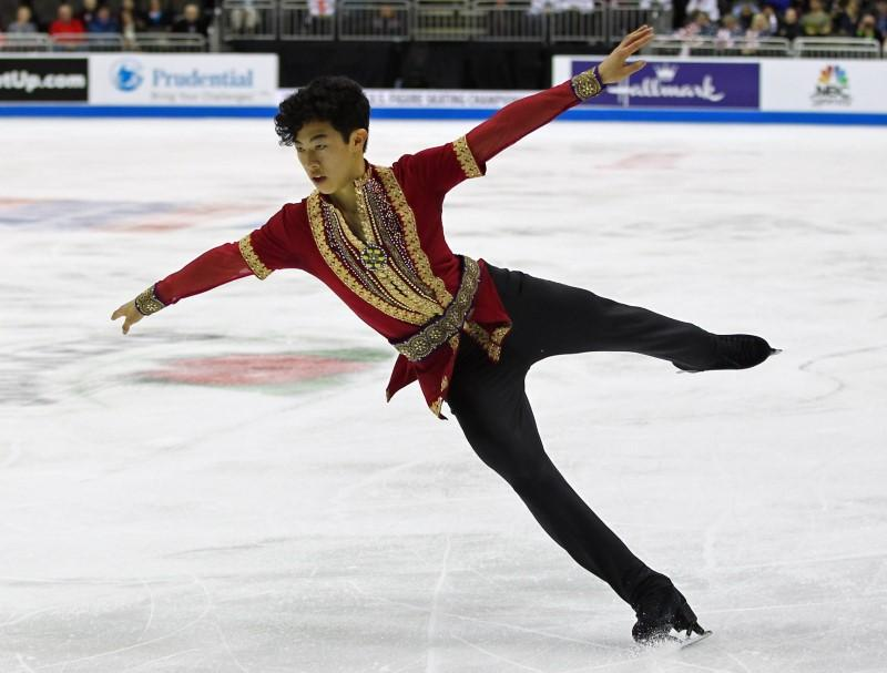 Figure skating: Chen lands record five quads at U.S. nationals