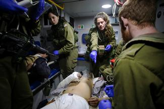 Syrian wounded seek help from enemy Israel