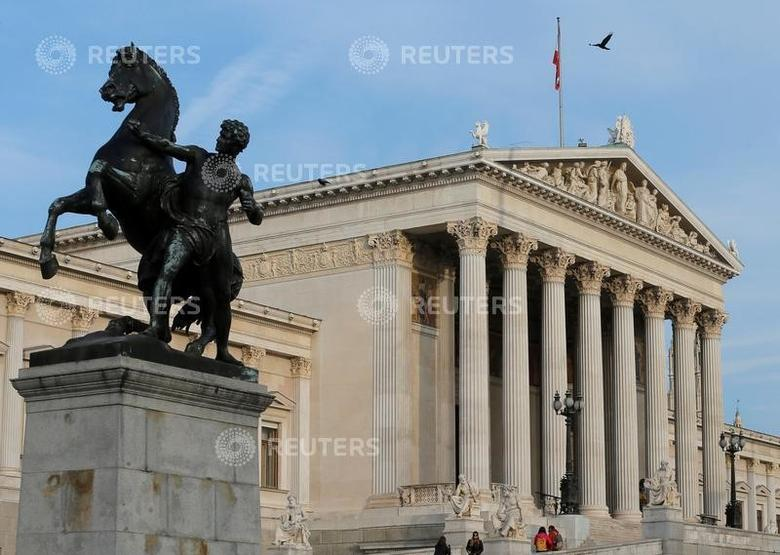 The Austrian parliament is seen in Vienna, Austria, November 4, 2016. REUTERS/Heinz-Peter Bader
