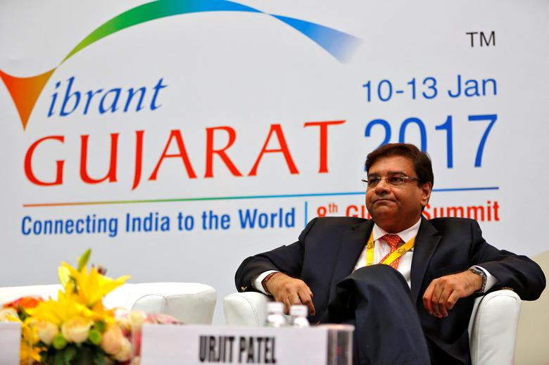 The Reserve Bank of India (RBI) Governor Urjit Patel attends a seminar during the Vibrant Gujarat investor summit in Gandhinagar, India, January 11, 2017. REUTERS/Amit Dave