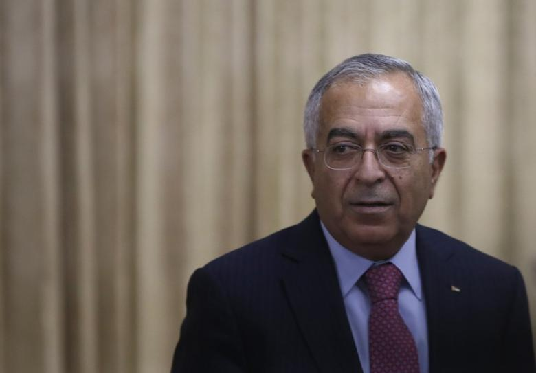 File Photo: Salam Fayyad attends an opening reception of Conference on Cooperation among East Asian Countries for Palestinian Delevopment (CEAPAD) in Tokyo February 13, 2013.   REUTERS/Issei Kato
