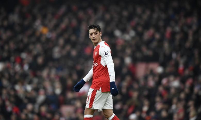 Britain Soccer Football - Arsenal v Hull City - Premier League - Emirates Stadium - 11/2/17 Arsenal's Mesut Ozil  Reuters / Dylan Martinez Livepic