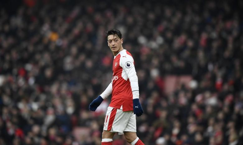 Britain Soccer Football - Arsenal v Hull City - Premier League - Emirates Stadium - 11/2/17 Arsenal's Mesut Ozil  Reuters / Dylan Martinez Livepic