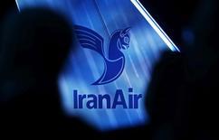 IranAir a finalisé un accord d'achat de 20 avions turbopropulsés au constructeur franco-italien ATR. /Photo prise le 11 janvier 2017/REUTERS/Régis Duvignau