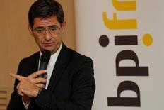 Orange a annoncé mercredi la nomination de Nicolas Dufourcq, PDG de Bpifrance Participations, au conseil d'administration de l'opérateur télécoms. /Photo prise le 31 janvier 2017/REUTERS/Philippe Wojazer