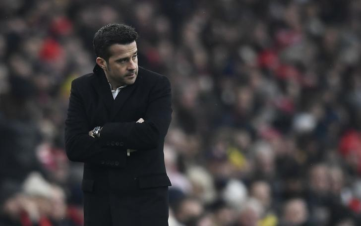 Britain Soccer Football - Arsenal v Hull City - Premier League - Emirates Stadium - 11/2/17 Hull City manager Marco Silva  Reuters / Dylan Martinez Livepic